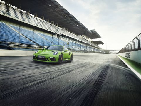 2019 Porsche 911 GT3 RS Nurburgring Grand Prix Track