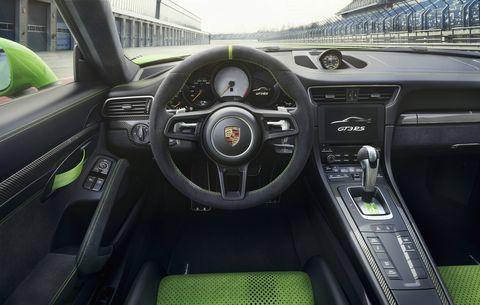 2019 Porsche 911 GT3 RS Nurburgring Grand Prix Track Interior