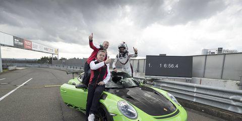 2019 Porsche 911 GT3 RS Nurburgring