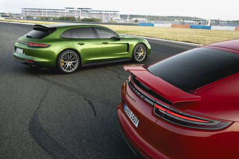 2019 Porsche Panamera GTS together with the GTS Sport Turismo
