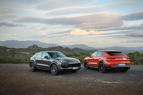 The 2020 Porsche Cayenne Coupe is available in the fall and will be powered by either a naturally aspirated V6 or a turbocharged V8