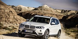 The xDrive all-wheel-drive system delivers optimum traction, need-based power distribution, and further improved dynamics and driving safety.