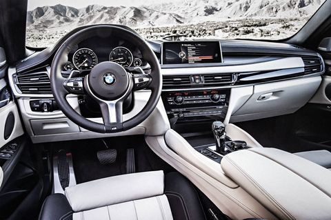 The 2018 BMW X6 comes in rear- or all-wheel drive configurations.