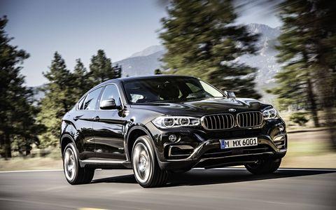 With the introduction of the all-new 2015 BMW X6, the company celebrates the second generation of the world's first-ever sports activity coupe. (The xDrive50i is shown here)