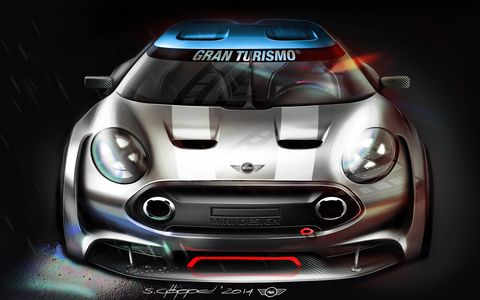 The Mini Clubman Vision Gran Turismo debuts Feb. 26 on the PlayStation Network.