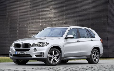 The 2016 BMW X5 xDrive40e goes on sale this fall with a 13-mile all-electric range and 55 MPGe.