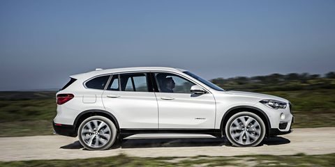 The X1 slots in at the bottom of the X range, and competes with Audi's Q3 and the Mercedes GLA.
