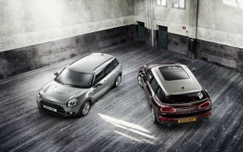 The new Mini Clubman goes on sale in January.