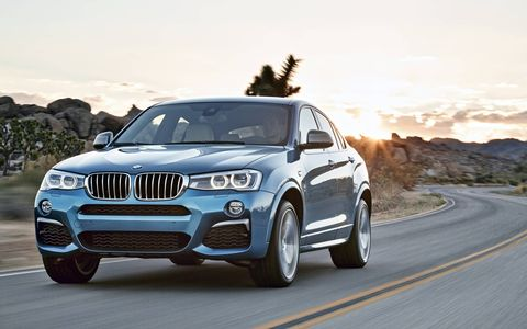 Introducing the BMW X4 M40i, an M Performance take on the X4 sports activity coupe boasting higher output and a (moderately) more aggressive look.