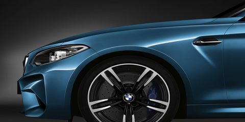 The BMW M2 and X4 M40i will debut at the Detroit auto show in January.