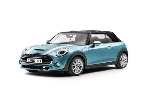 The new Mini Cooper convertible will premiere at the LA Auto Show.