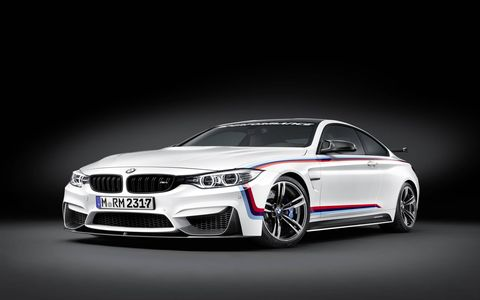 The BMW M4 Coupé in all its glory. The ultimate driving experience just got more ultimate.