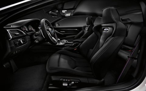 The Competition coupe gets a few extra horsepower, more direct steering ratio, new suspension and DSC settings.