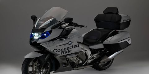 BMW brings new motorcycle tech to the Consumer Electronics Show.