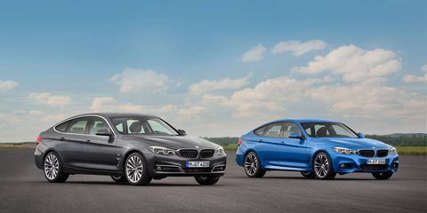 BMW introduced the new i3, the 3-Series Gran Turismo and the new Concept X2 at the Paris auto show. This is the 3-Series Gran Turismo.