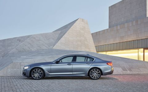 The 2017 BMW 5-series ushers in a new generation of the German sedan.