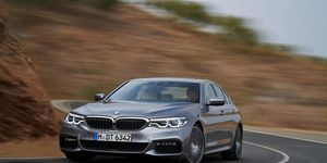 The all-new-for-2017 BMW 5-Series