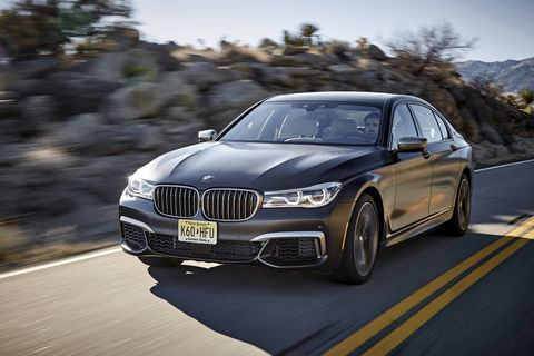 The 2018 BMW M760i xDrive comes with a 601-hp twin-turbocharged 6.6-liter V12.