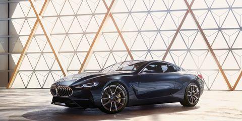 BMW is unveiling the Concept 8 Series at this year's Concorso d'Eleganza Villa d'Este.