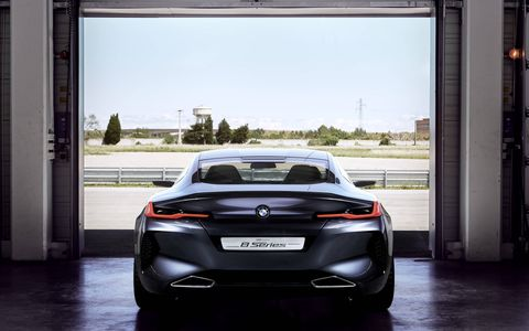 BMW is unveiling the Concept 8 Series at this year's Concorso d'Eleganza Villa d'Este.