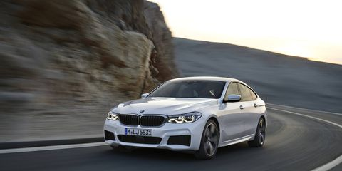 The 2018 BMW 640i xDrive comes with a 335-hp I6.