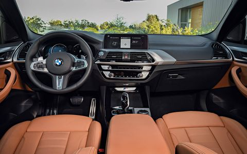The 2018 X3 comes with a 10.25-inch touchscreen featuring the same gesture control other BMWs use.