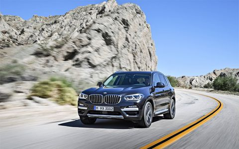 The 2018 BMW X3 M40i will sprint to 60 in only 4.6 seconds.
