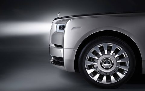 The eighth-generation Rolls-Royce Phantom comes with a reworked 6.75-liter V12 making 563 hp and 663 lb-ft of torque.