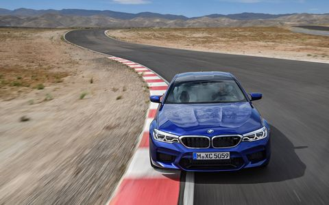 The next-generation BMW M5 is finally on its way.