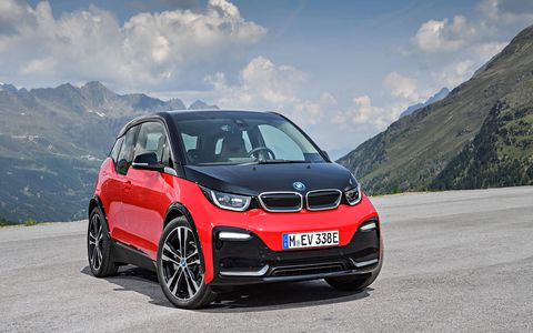 BMW revealed a performance version of its electric range-extended hatch before the Frankfurt motor show, in the guise of the i3s.