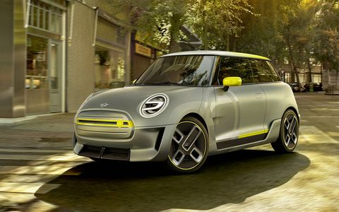 Mini revealed the Electric concept, which previews a production version expected to be launched in 2019.