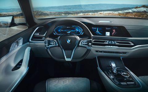 Leaked Photos of BMW X7 interior photos