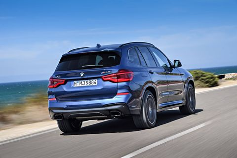 The 2018 BMW X3 M40i is the first M Performance variant of the X3.