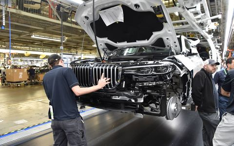 The next addition to the BMW crossover portfolio is testing out the assembly process.