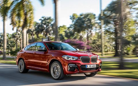 The BMW X4 will receive two new, more powerful engines when the redesigned compact crossover goes on sale in July in the U.S.