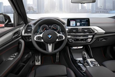 All 2019 BMW X4s get all-wheel drive and an eight-speed automatic transmission.