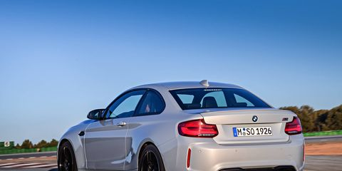 The 2019 BMW M2 Competition now makes 405 hp and 406 lb-ft of torque with the engine from the M3.