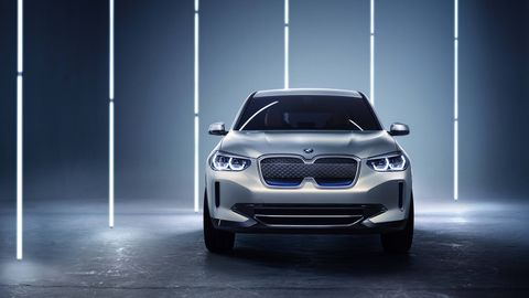 The BMW Concept iX3 debuted at the Beijing motor show with conventional looks and almost 250 miles of range.