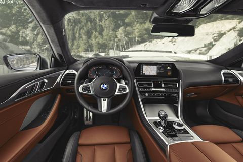Like the rest of the family, the 2019 BMW 8-Series will get multiple drive modes, big display screens and a head-up display.