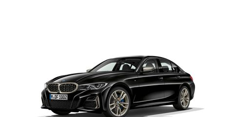 The 2020 BMW M340i gets 382 hp and 369 lb-ft of torque.