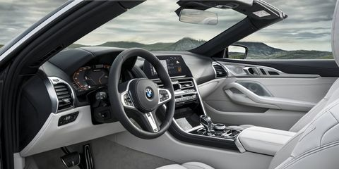 The 2019 BMW M850i xDrive Convertible comes standard with heated leather seats and heated headrests for top-down drives later into the fall season.