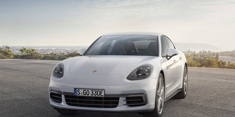 The 2018 Porsche Panamera 4 E-Hybrid will go on sale next summer; it's expected to be shown at the Paris motor show later this month.