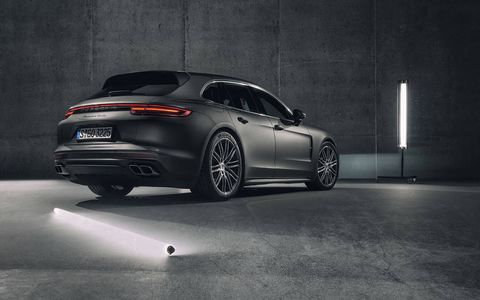 The 2018 Porsche Panamera Sport Turismo will be on sale later this year in the U.S.
