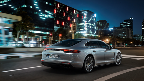 Porsche built what it thinks a luxury flagship sedan should be -- big enough to comfortably accommodate four adults, but tough and sprightly enough to retain track prowess.