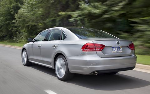 The Passat's styling was seen as clean but conservative.