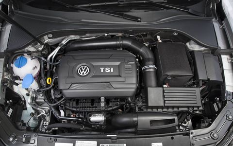 The new 1.8-liter turbo is far superior to the 2.5 liter four cylinder engine it replaces.