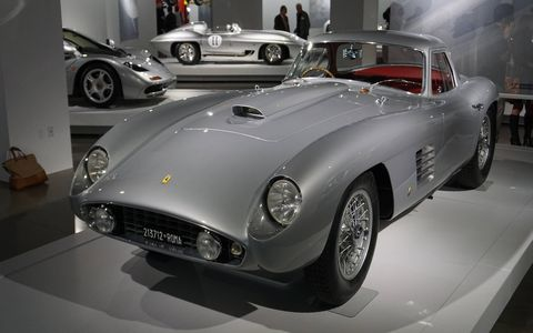 """L.A.'s Petersen Automotive Museum opens to the public Sunday Dec. 6 for """"Preview Day,"""" which costs $200. Starting Monday it's only 15 bucks. Either one is well worth the price of admission."""