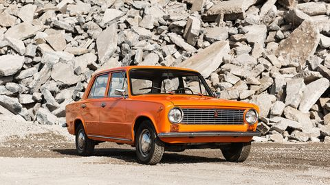 Bill Treib's 1976 Lada 2101 is the best souvenir you could have from a vacation in Germany.