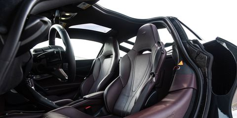 We tested the 2018 McLaren 720S at the M1 Concourse racetrack in Pontiac, Michigan.