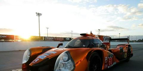 Michael Shank Racing completed a successful test in Palm Beach on Monday and Tuesday.